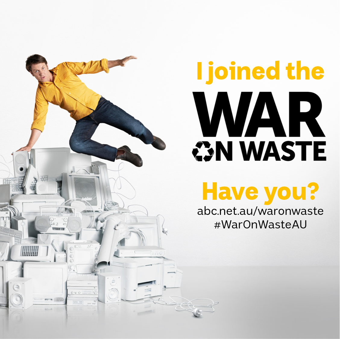 War on Waste badge